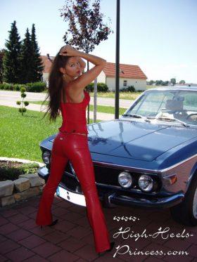 HD Car and girls wallpaper