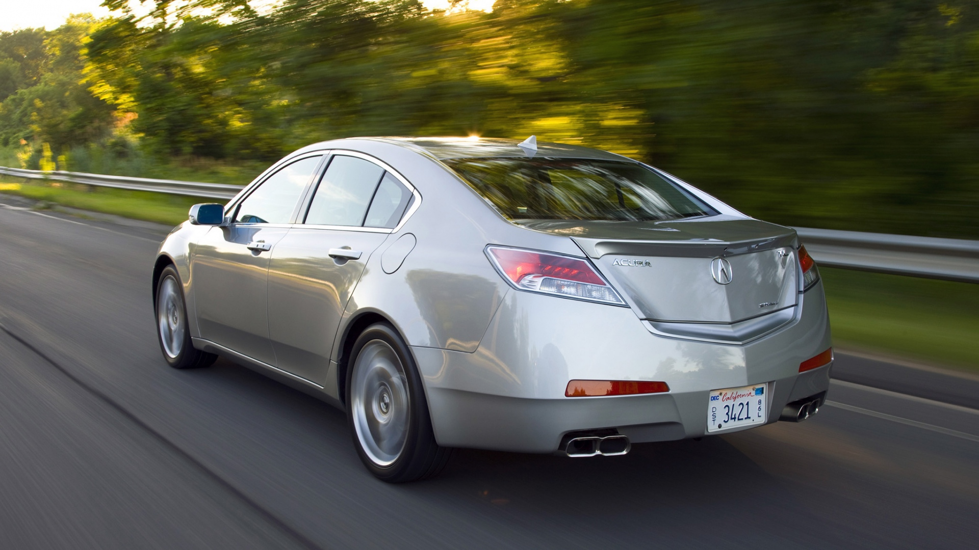 1920x1080-acura-tl-metallic-gray-side-view-style-cars-speed-trees-highway-wallpaper-wpc900966