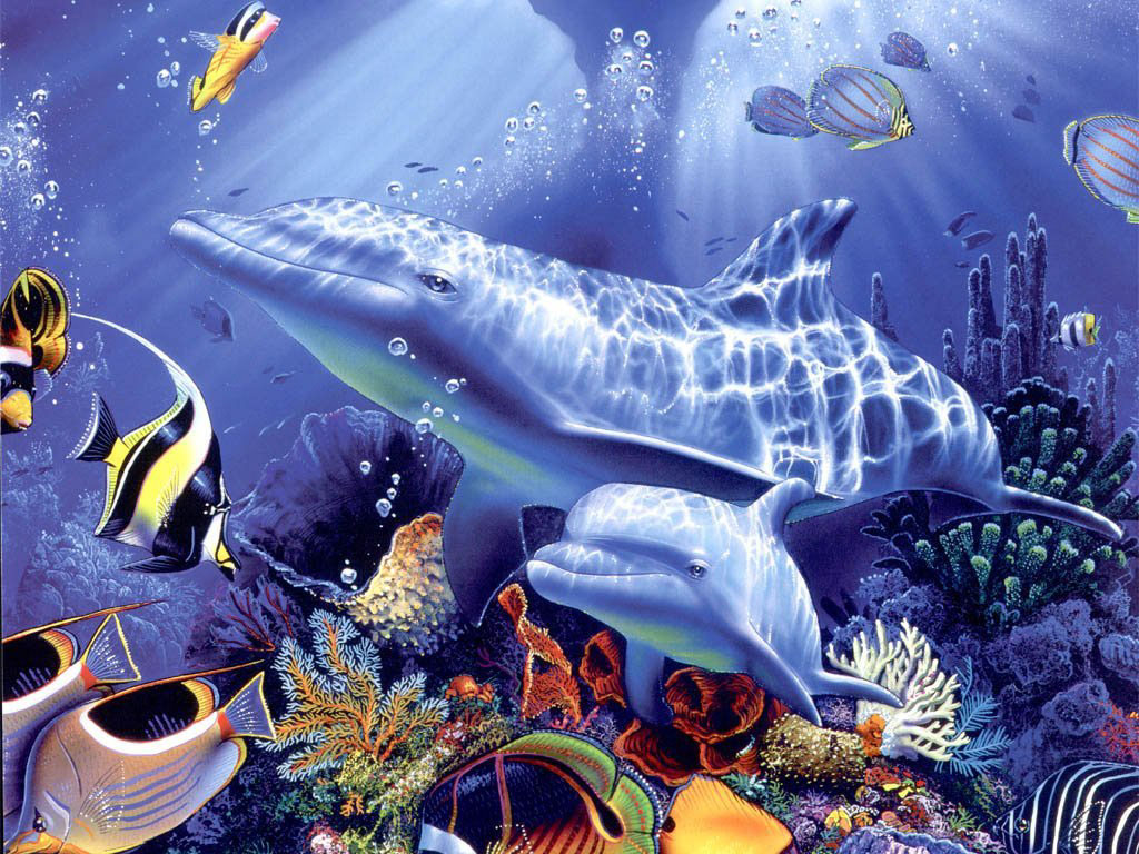 3d-Moving-Ventube-com-Living-3d-Dolphins-Animated-Computer-wallpaper-wpc9001508