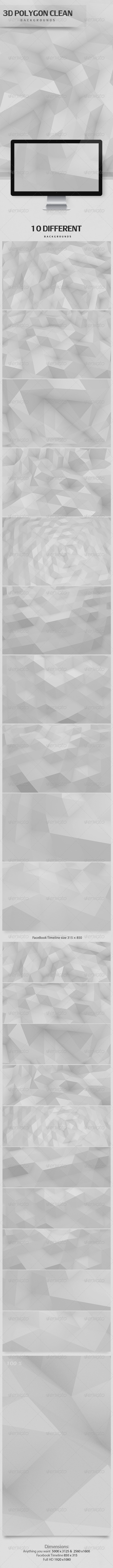 3d-Polygon-Clean-Backgrounds-GraphicRiver-3d-Polygon-Clean-Backgrounds-Dimension-wallpaper-wp3801275