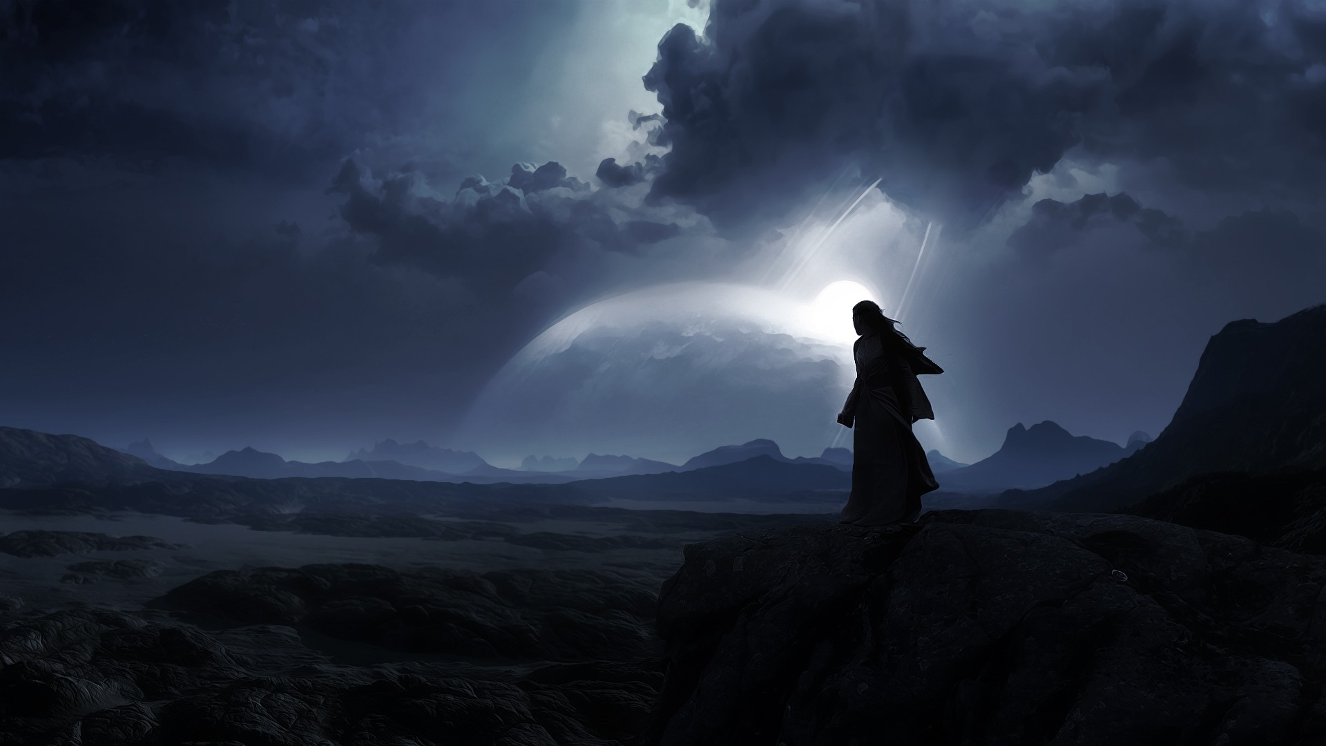 Abstract-Artwork-Clouds-Dark-Fantasy-Art-Landscapes-Lonely-Moon-Night-Robes-Warriors-wallpaper-wp3802136