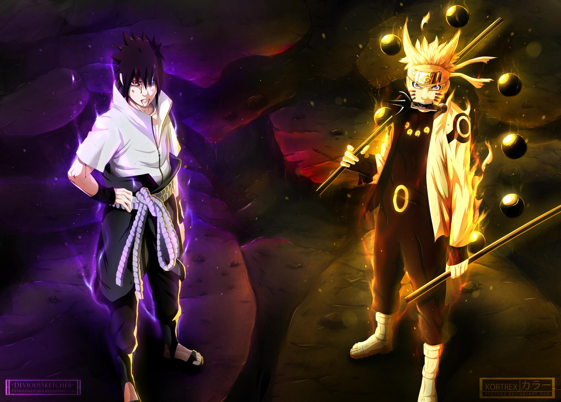 Anime-Naruto-Sasuke-Uchiha-Naruto-Uzumaki-Anime-Fondo-de-Pantalla-wallpaper-wp3602557
