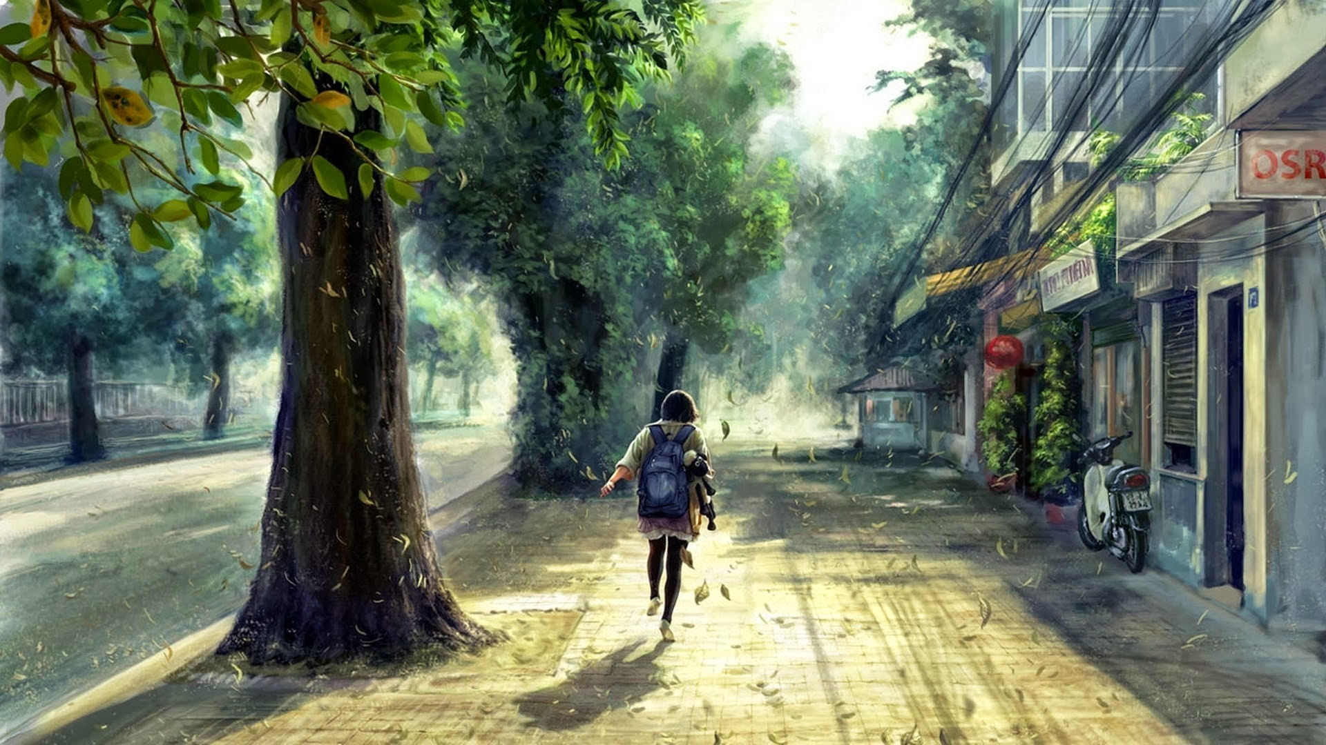 Anime-Scenery-Street-HD-Desktop-wallpaper-wpc5802158
