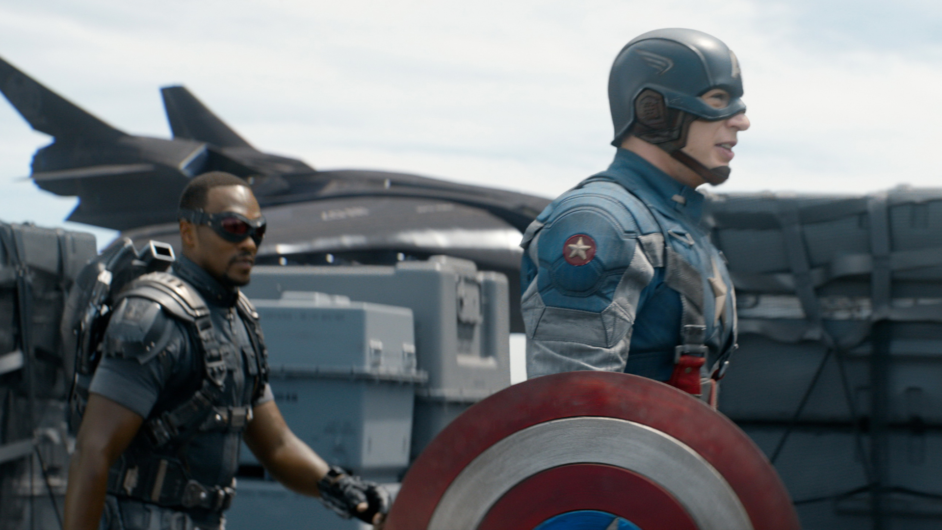 Anthony-Mackie-as-The-Falcon-and-Chris-Evans-as-Steve-Rogers-Captain-America-wallpaper-wpc9002289
