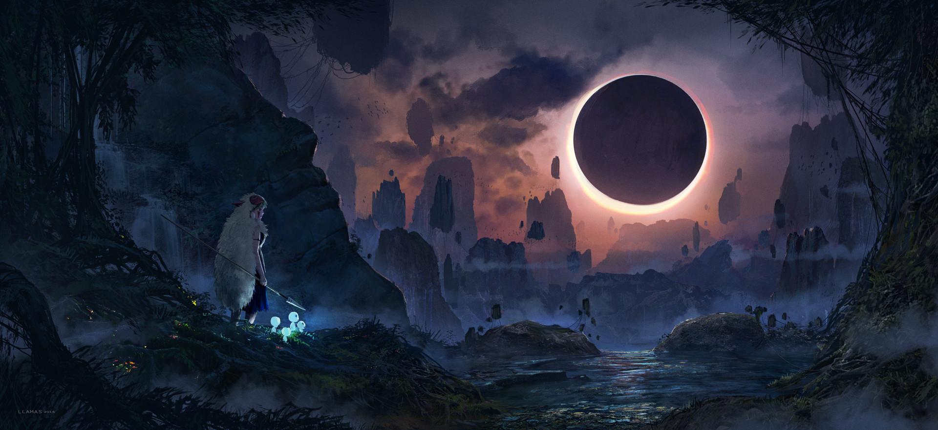ArtStation-Eclipse-Florent-Llamas-wallpaper-wp3602741
