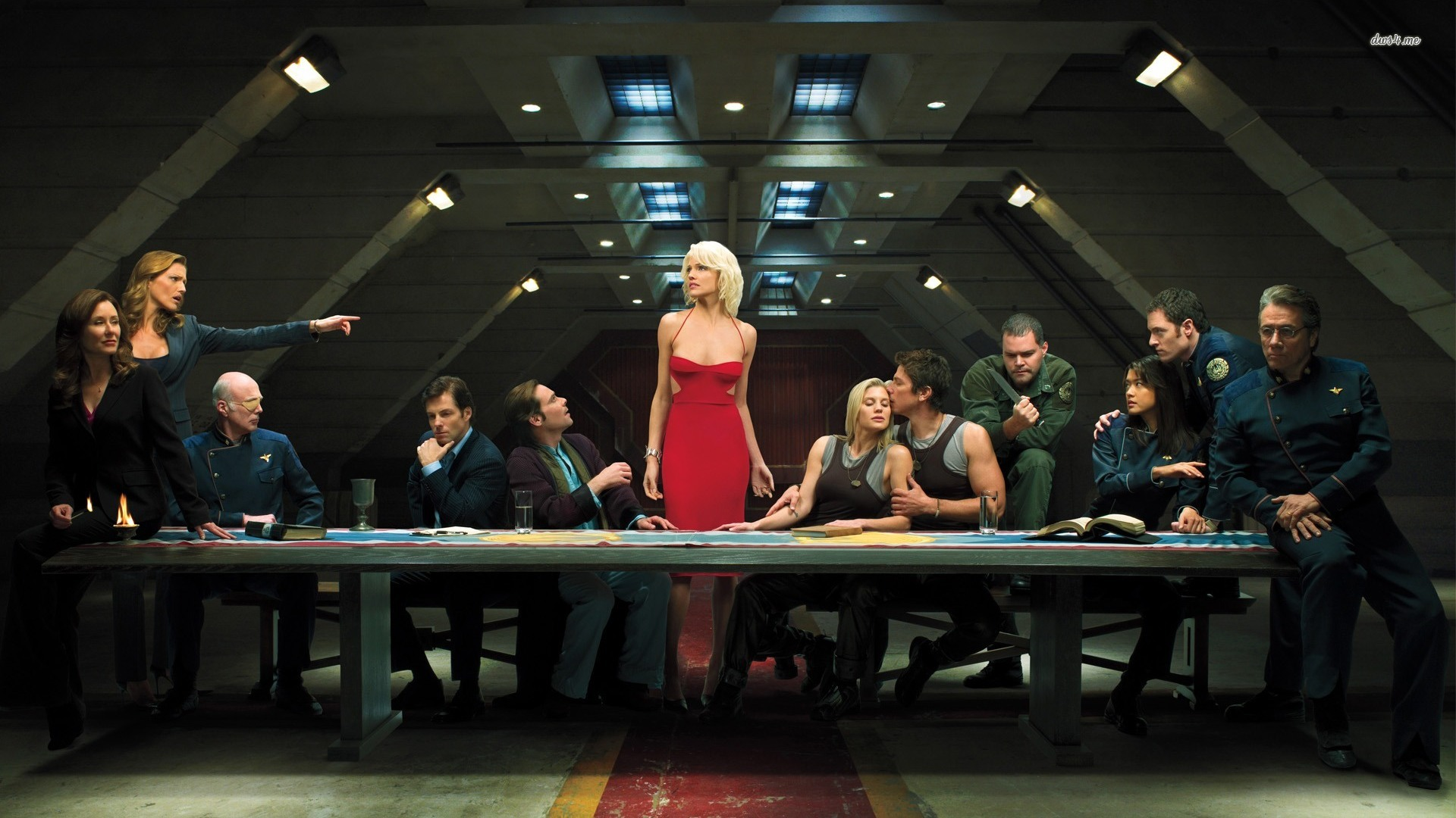 Battlestar-Galactica-Final-Dinner-wallpaper-wpc5802561