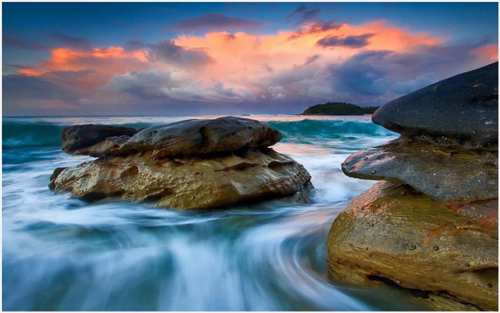 Beach-Rocks-Sunset-beach-rocks-sunset-1080p-beach-rocks-sunset-desk-wallpaper-wpc5802594