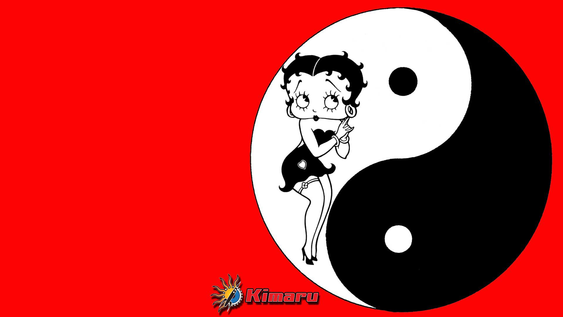 Betty-Boop-Ying-Yang-wallpaper-wpc9002861