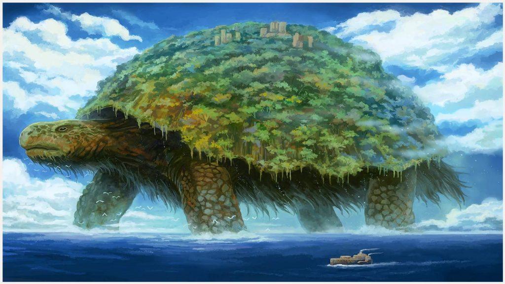 Big-Turtle-Painting-Fantasy-big-turtle-painting-fantasy-1080p-big-turtle-pain-wallpaper-wp3803160