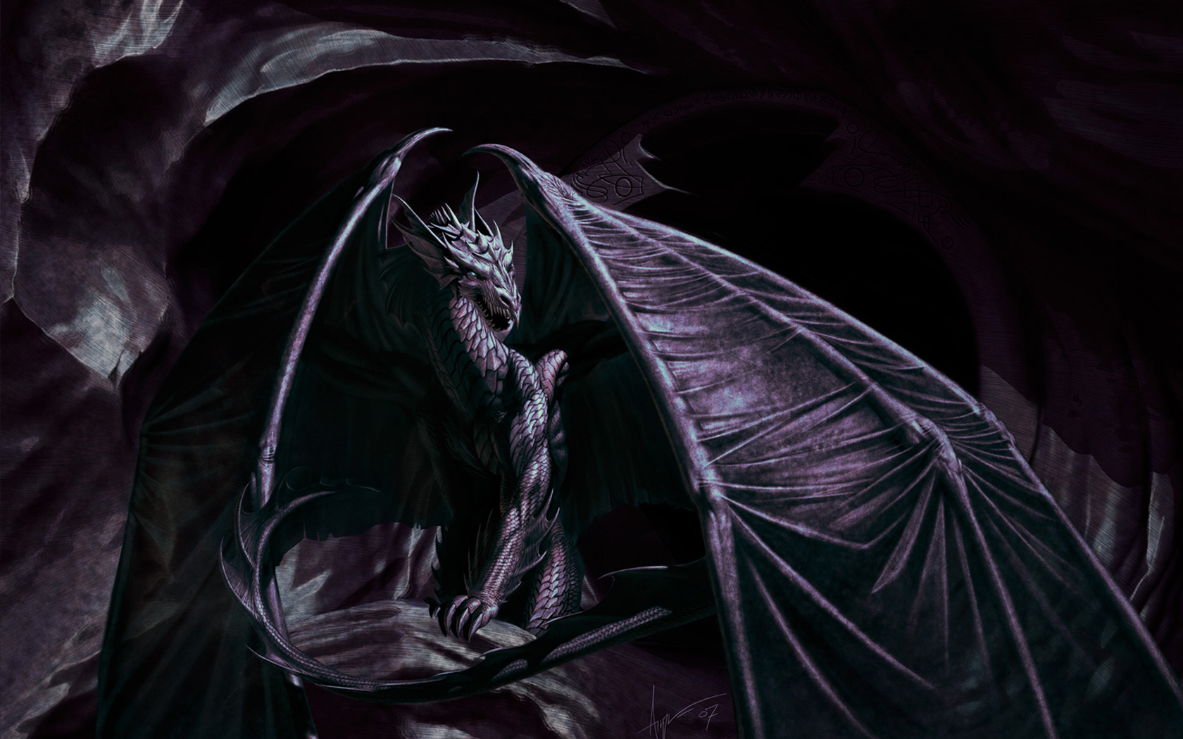 Black-Dragon-Android-Amazing-z-wallpaper-wpc9002927