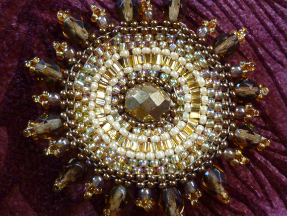 Brooch-Beadwoven-in-Brown-Gold-Autumn-Tones-by-GemRio-on-Etsy-wallpaper-wpc9003209