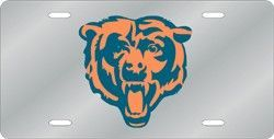 Chicago-Bears-Silver-Laser-Cut-License-Plate-wallpaper-wp3803719
