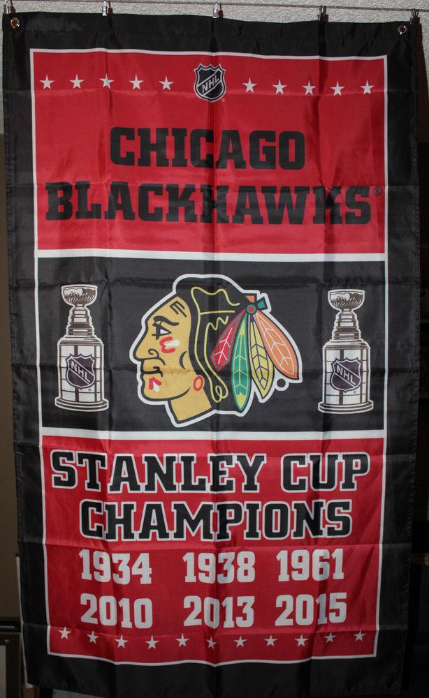 Chicago-Blackhawks-Commemorative-Stanley-Cup-Banner-Flag-x-Man-Cave-NHL-wallpaper-wp3803723