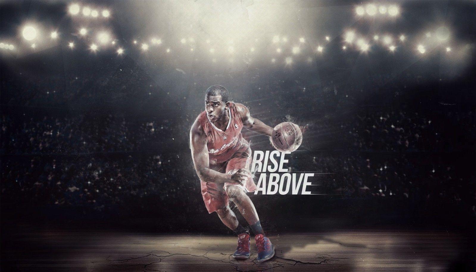 Chris-Paul-Basketball-Star-Fabric-poster-wallpaper-wpc9203560