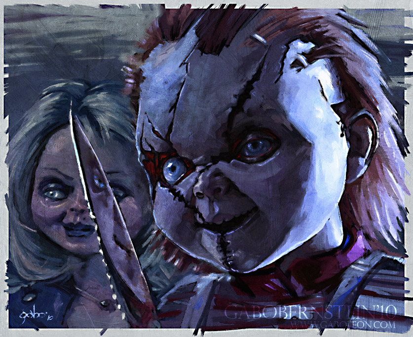 Chucky-and-Tiffany-wallpaper-wpc9003573