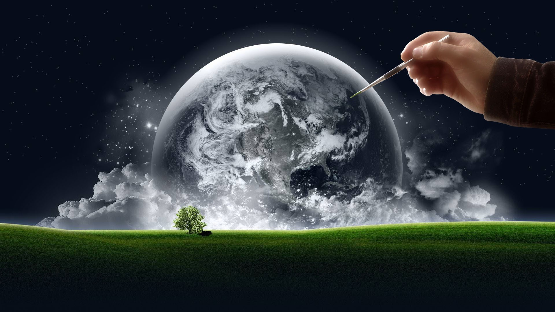 Clouds-Trees-Stars-World-Hands-Grass-Earth-Artwork-1920x1080px-Background-clouds-Clip-Art-wallpaper-wp3803857