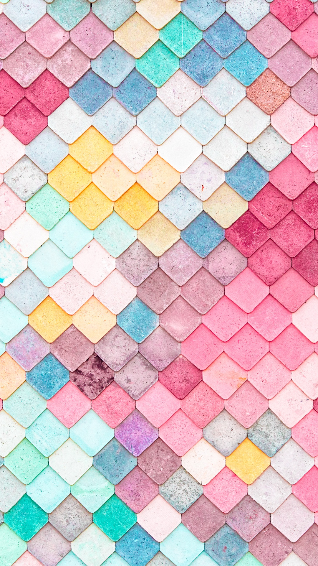 Colorful-Roof-Tiles-Pattern-iPhone-wallpaper-wpc5803584