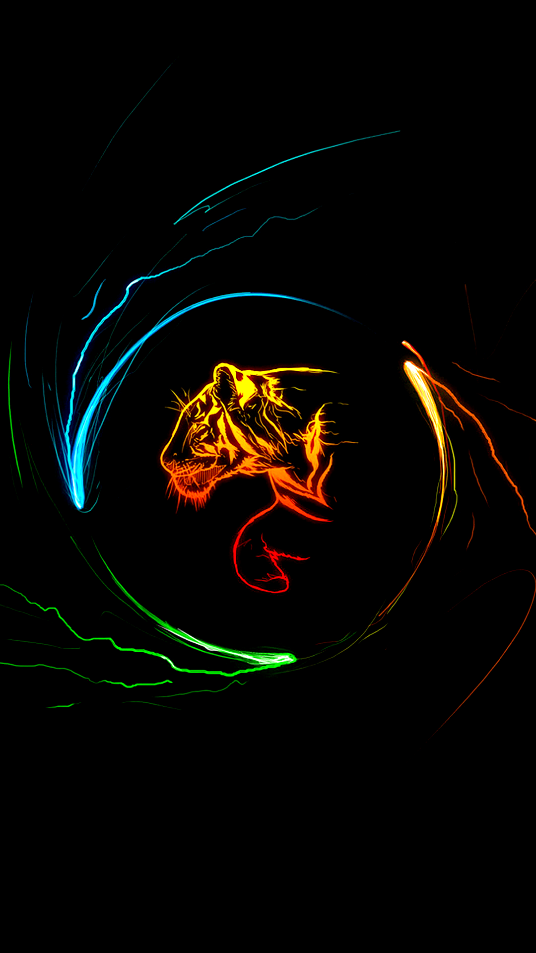 Colorful-Tiger-True-Black-1080x1920-Need-iPhone-S-Plus-Background-for-IPhoneS-wallpaper-wpc9003688