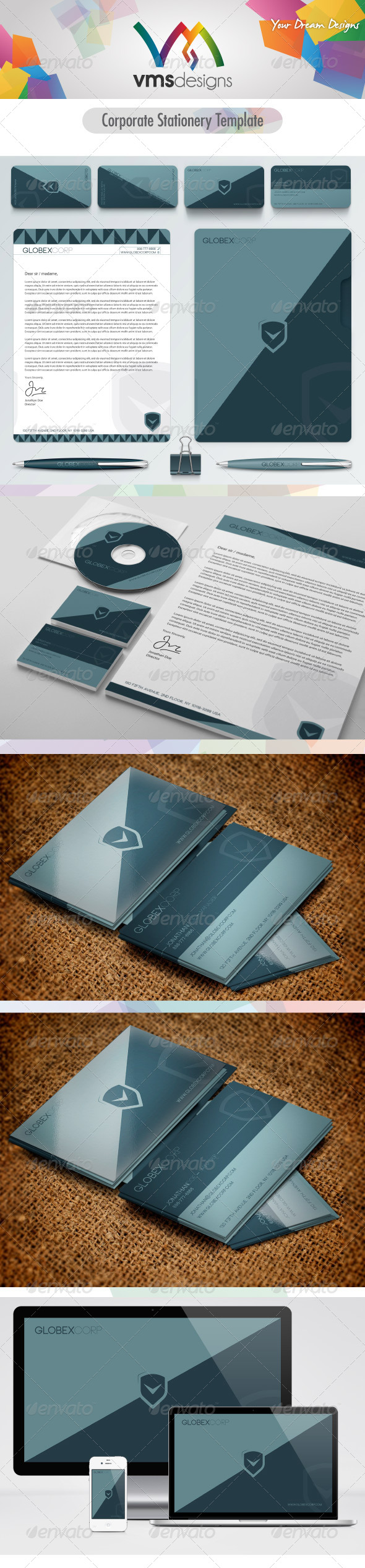 Corporate-Business-Stationery-Pack-GraphicRiver-Also-check-the-other-Gorgeous-Textured-wallpaper-wp3604362