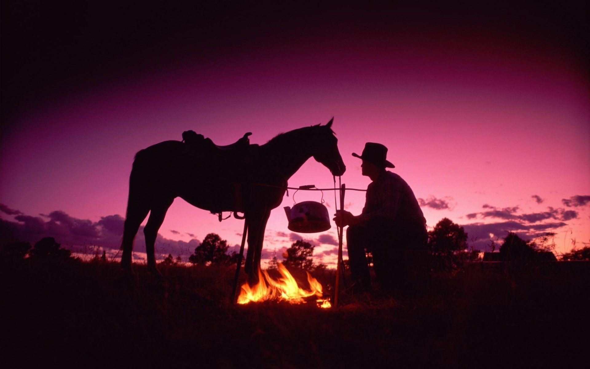 Country-Western-Sunset-Western-Cowboy-wallpaper-wpc5803762
