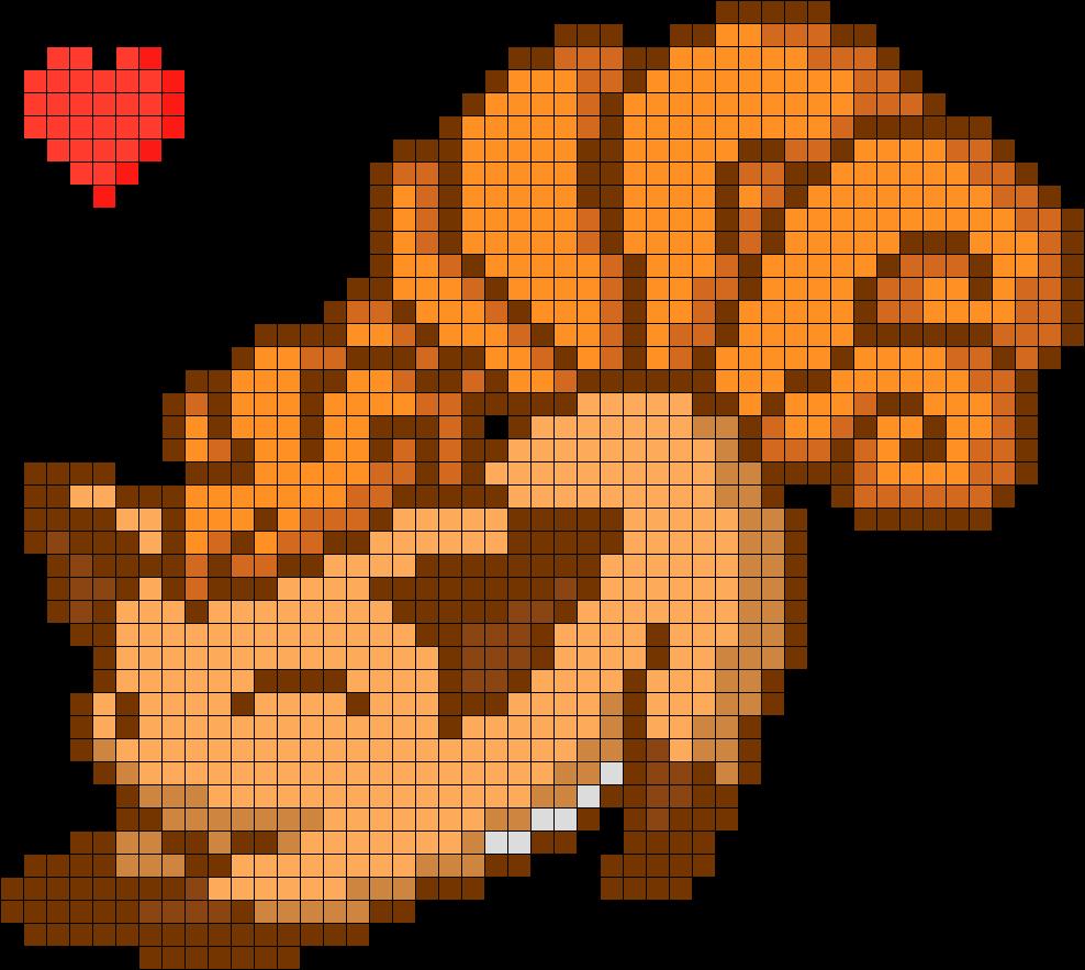 Cutie-Vulpix-Perler-Bead-Pattern-Bead-Sprite-wallpaper-wpc9003965