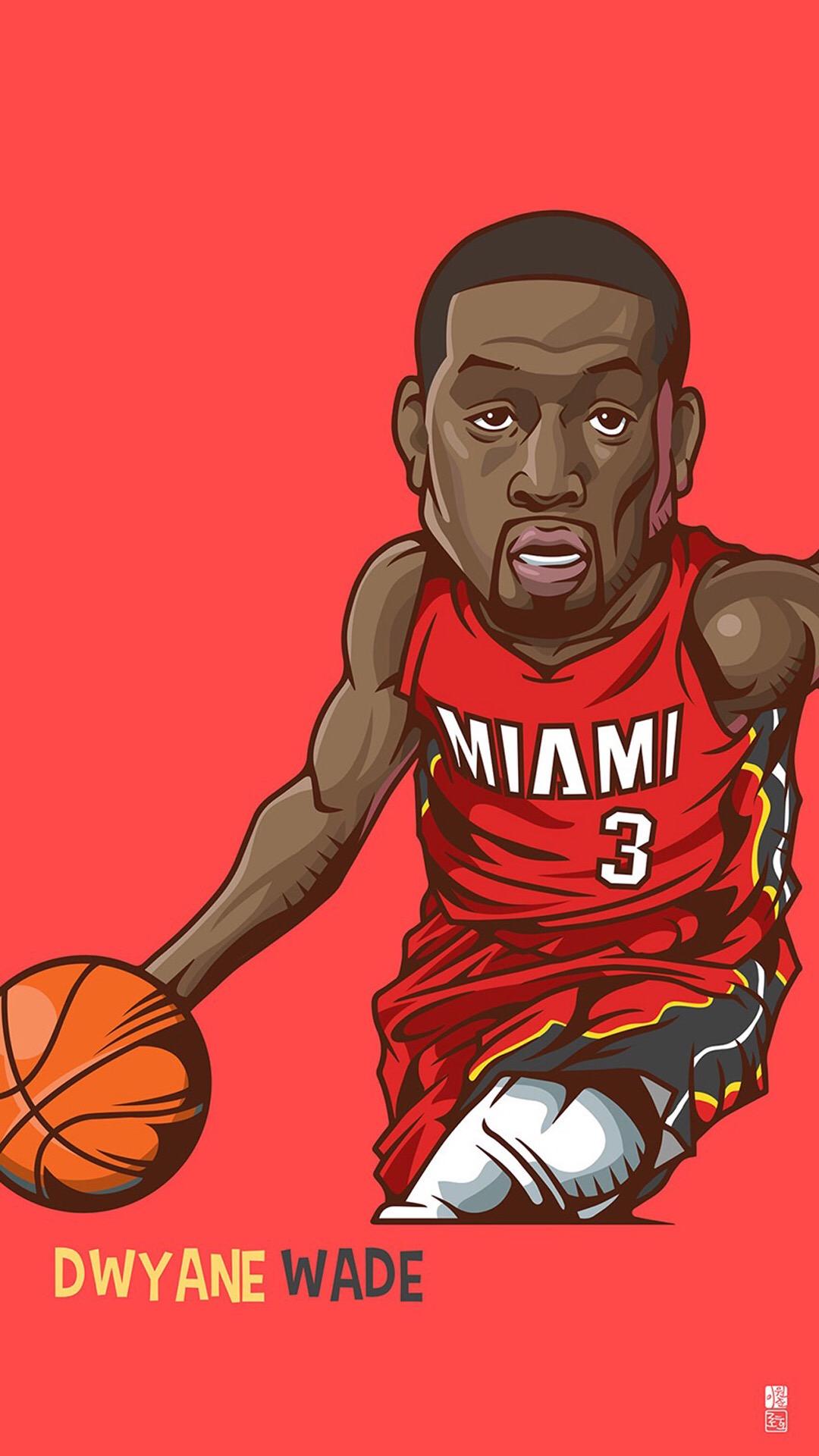 Download-Dwyane-Wade-1080-x-1920-nba-miamiheat-basketball-wade-mobile-wallpaper-wpc9204426