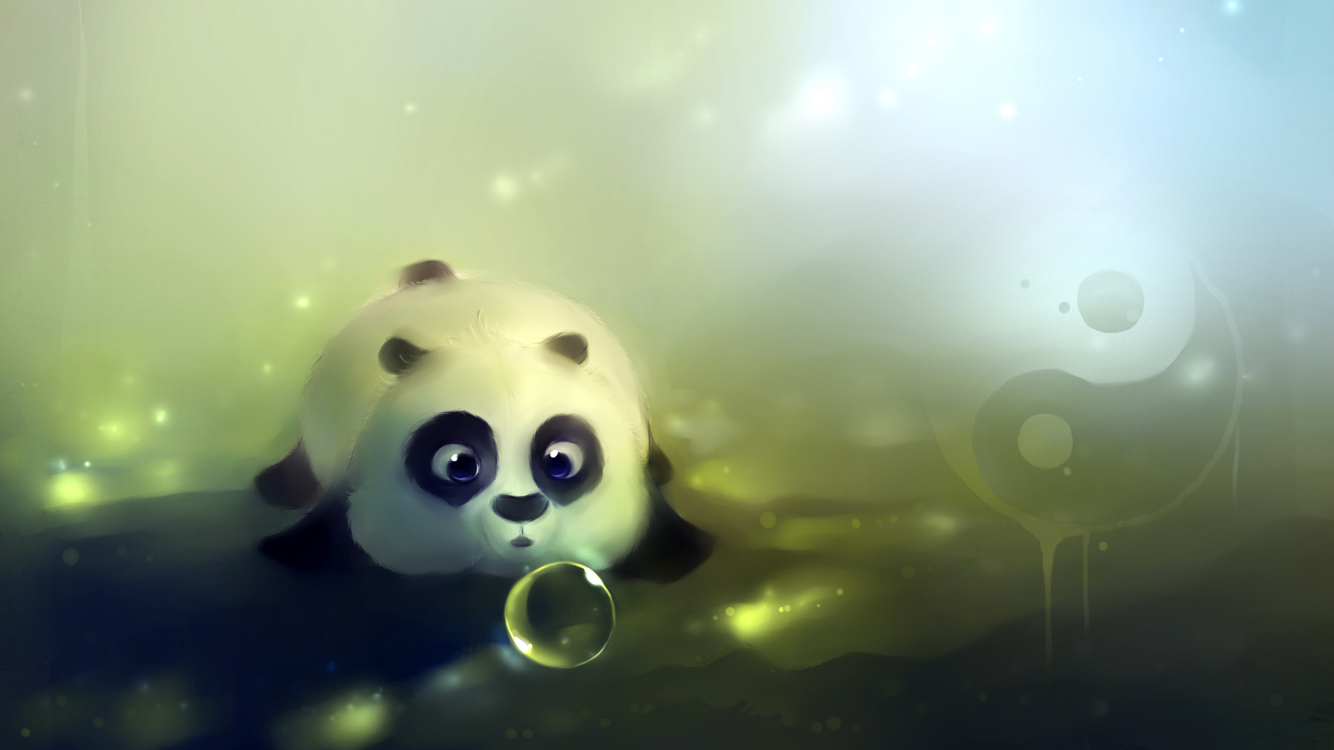 Download-panda-bear-bear-bubble-bulb-lies-yin-yang-dampling-drawing-animals-resolu-wallpaper-wpc9004489