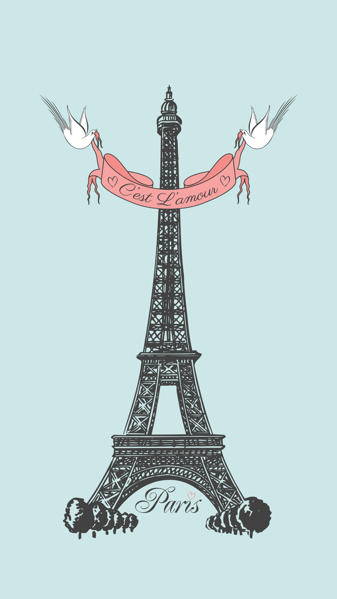 Eiffel-Tower-Vector-Art-Tap-to-see-more-Eiffel-Tower-Art-iPhone-backgrounds-fondos-wallpaper-wp3605327