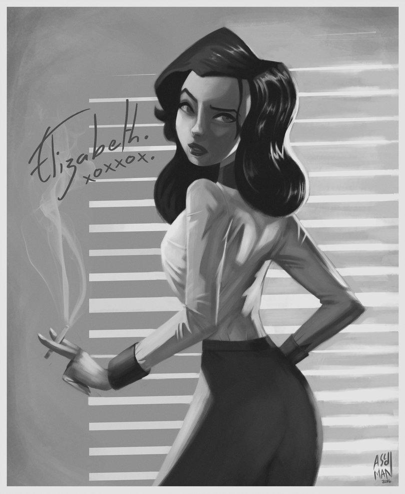 Elizabeth-BioShock-Infinite-Burial-at-Sea-by-ascdman-wallpaper-wpc5804573