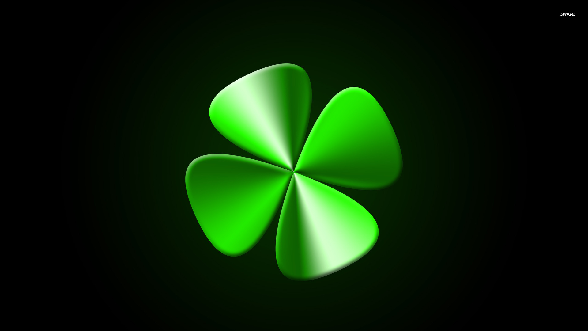 Four-Leaf-Clover-Like-Flowers-four-leaf-clover-1920x1080-digital-art-wallpaper-wpc9005107
