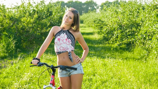 Girl-with-bicycle-HD-for-Standard-Fullscreen-UXGA-SXGA-Wide-Widescreen-W-wallpaper-wp3606180