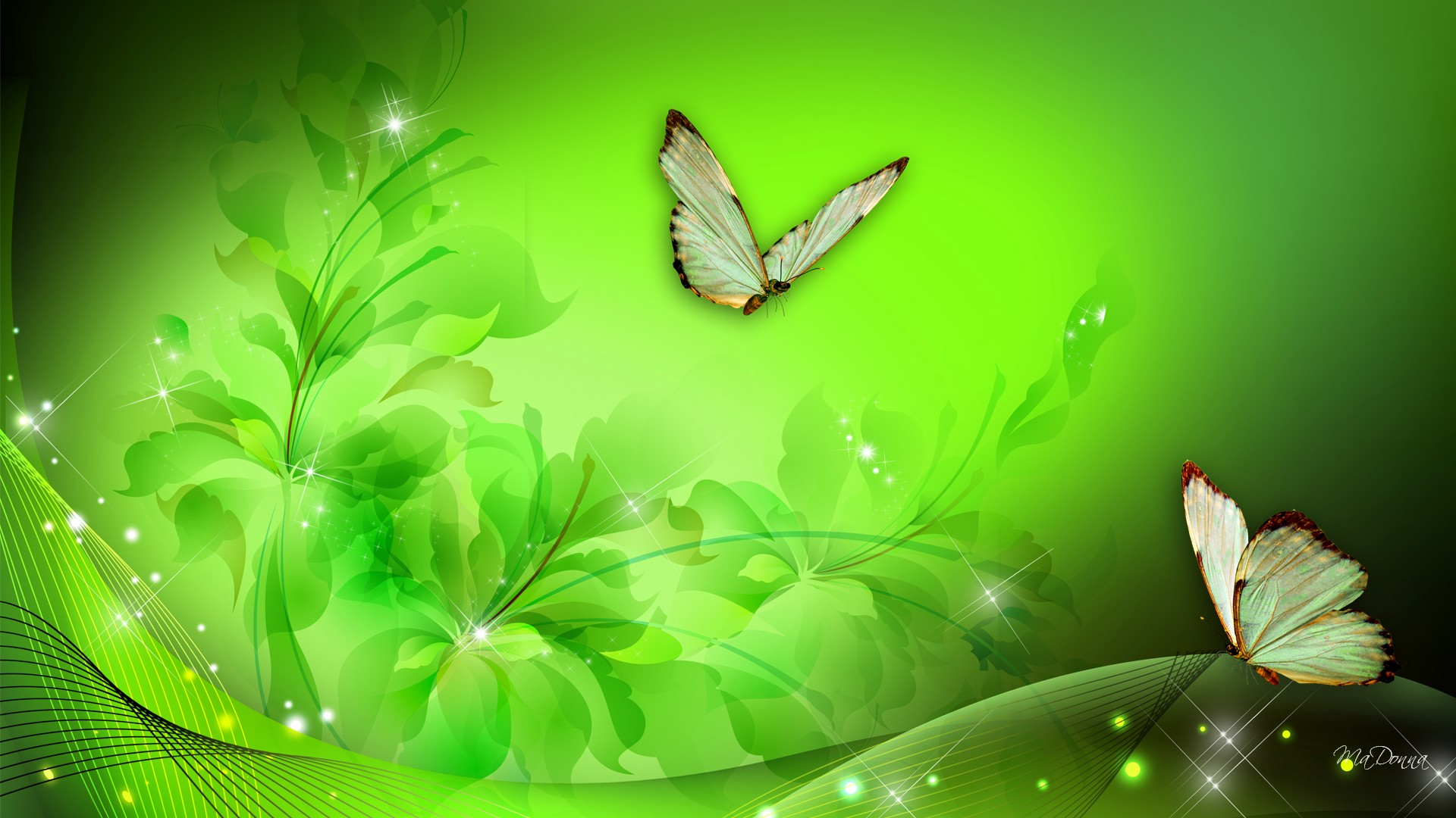 Greenfantasy-art-HD-Green-Floral-Fantasy-wallpaper-wpc9005667