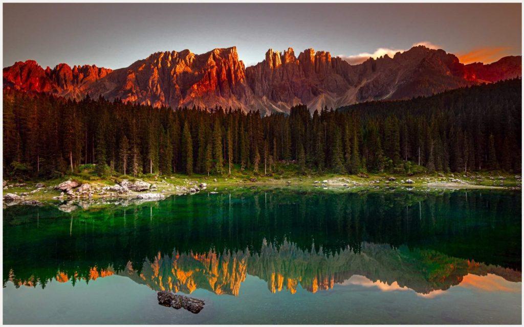 Karersee-Mountain-Forest-Lake-karersee-mountain-forest-lake-1080p-karersee-mo-wallpaper-wp3607649