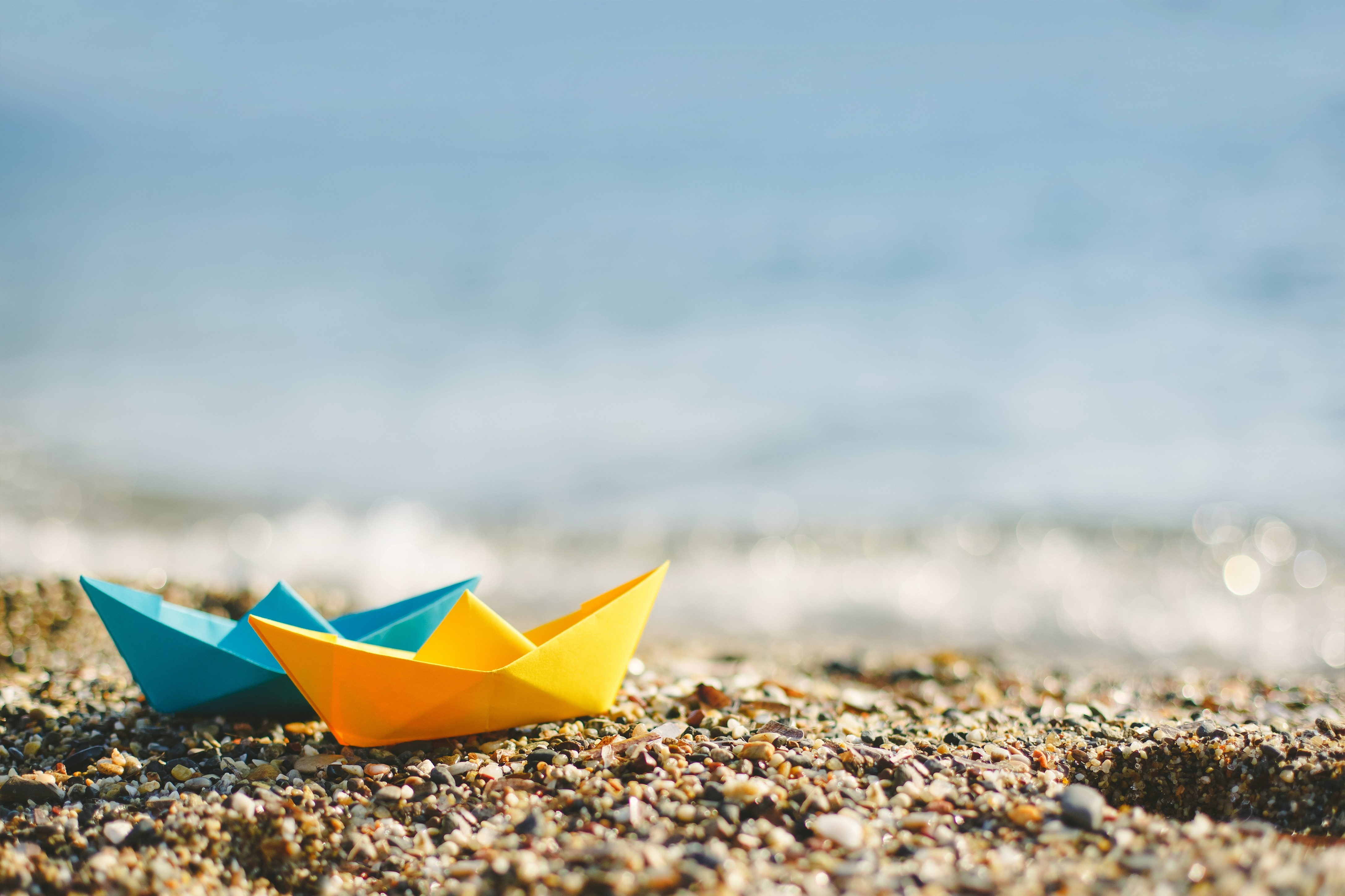 Paper-boat-ready-to-go-on-the-ocean-HD-summer-All-kinds-of-miscellaneous-do-wallpaper-wpc5807931