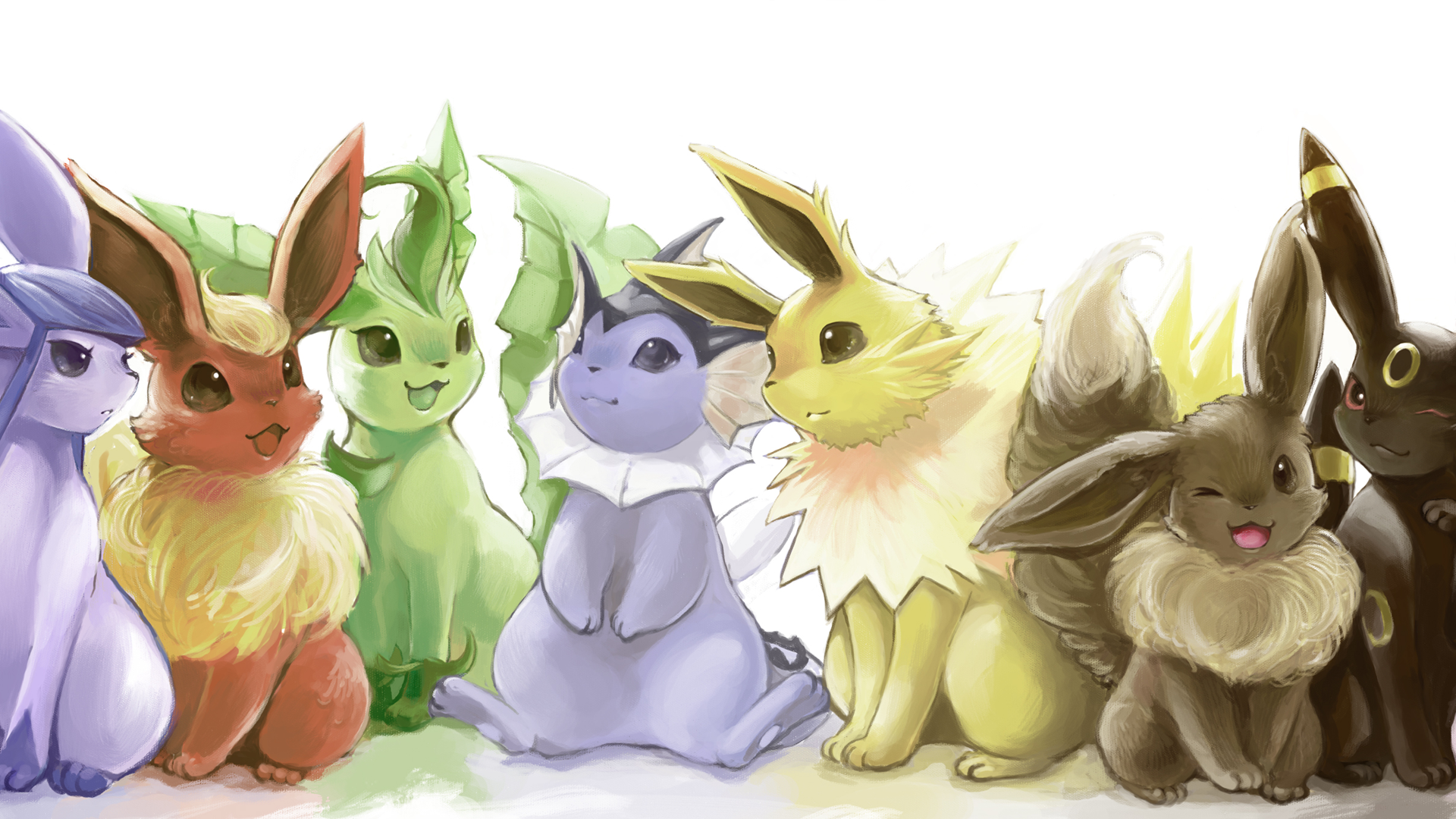 Pokemon-Eevee-Art-wallpaper-wpc5808154
