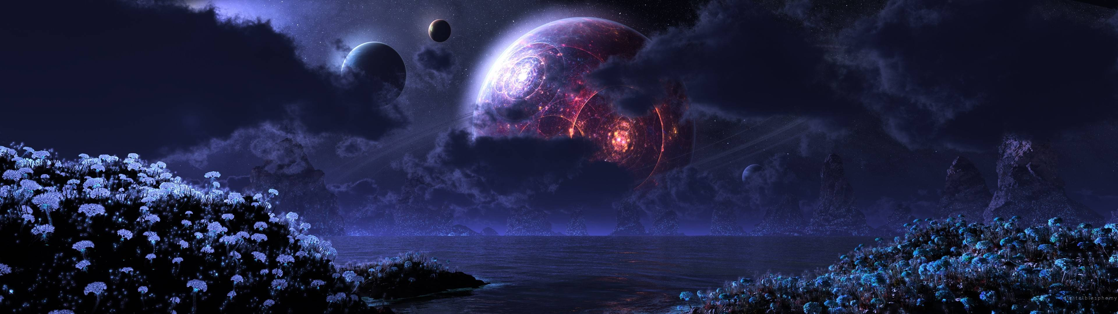 Sci-Fi-landscape-dual-monitor-wallpaper-wp38010042