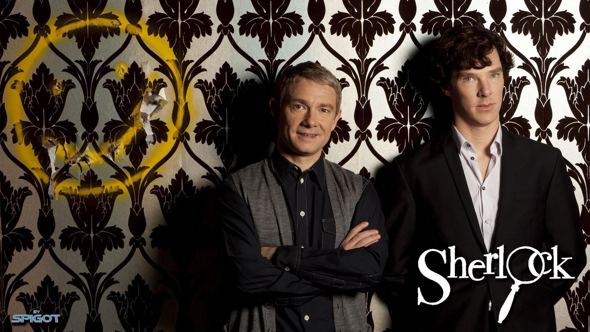 Stenciling-Sherlock-wallpaper-wpc5809053