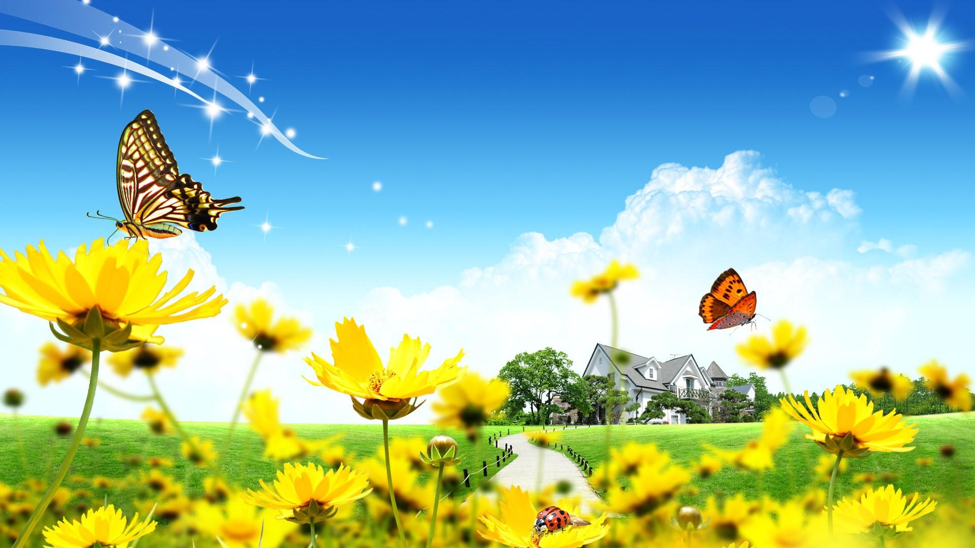 The-sunny-spring-Windows-Theme-1920×1080-wallpaper-wpc5809478