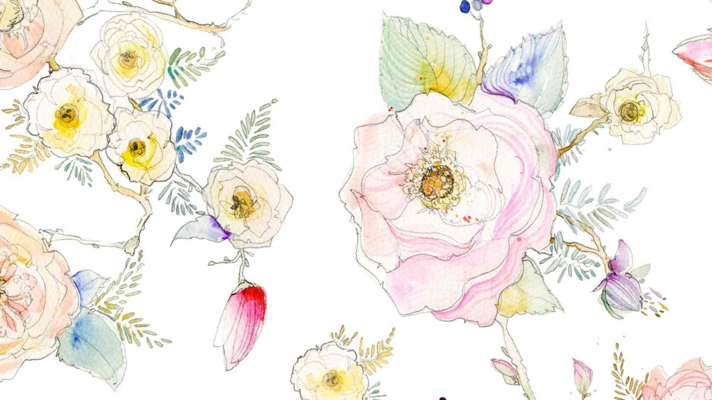 abeafaacbcedcdebc-watercolor-watercolor-flowers-wallpaper-wpc580431
