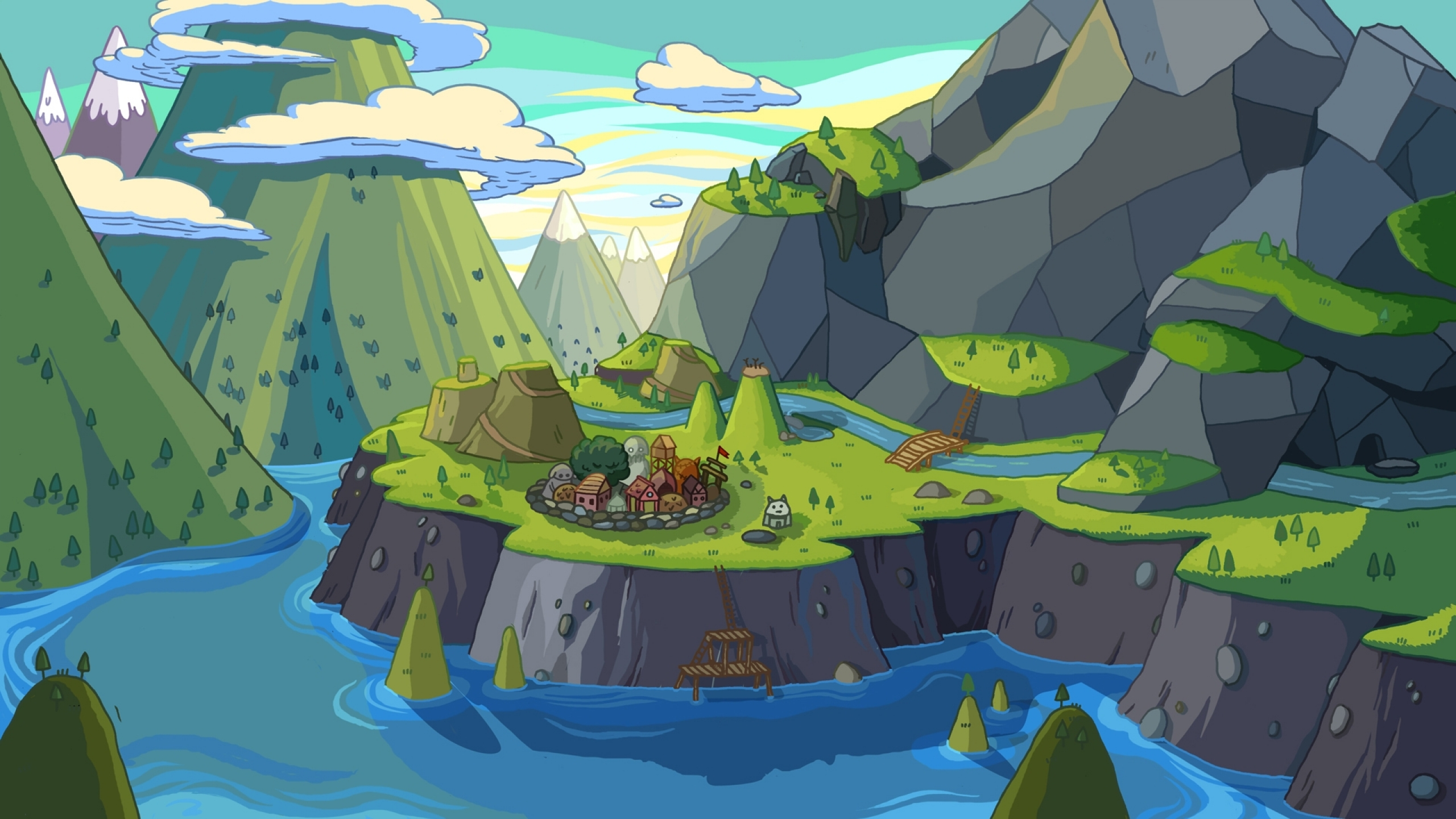 cartoon-network-mountains-landscapes-illustrations-adventure-time-rivers-sea-1920x1080-Art-wallpaper-wpc5803302