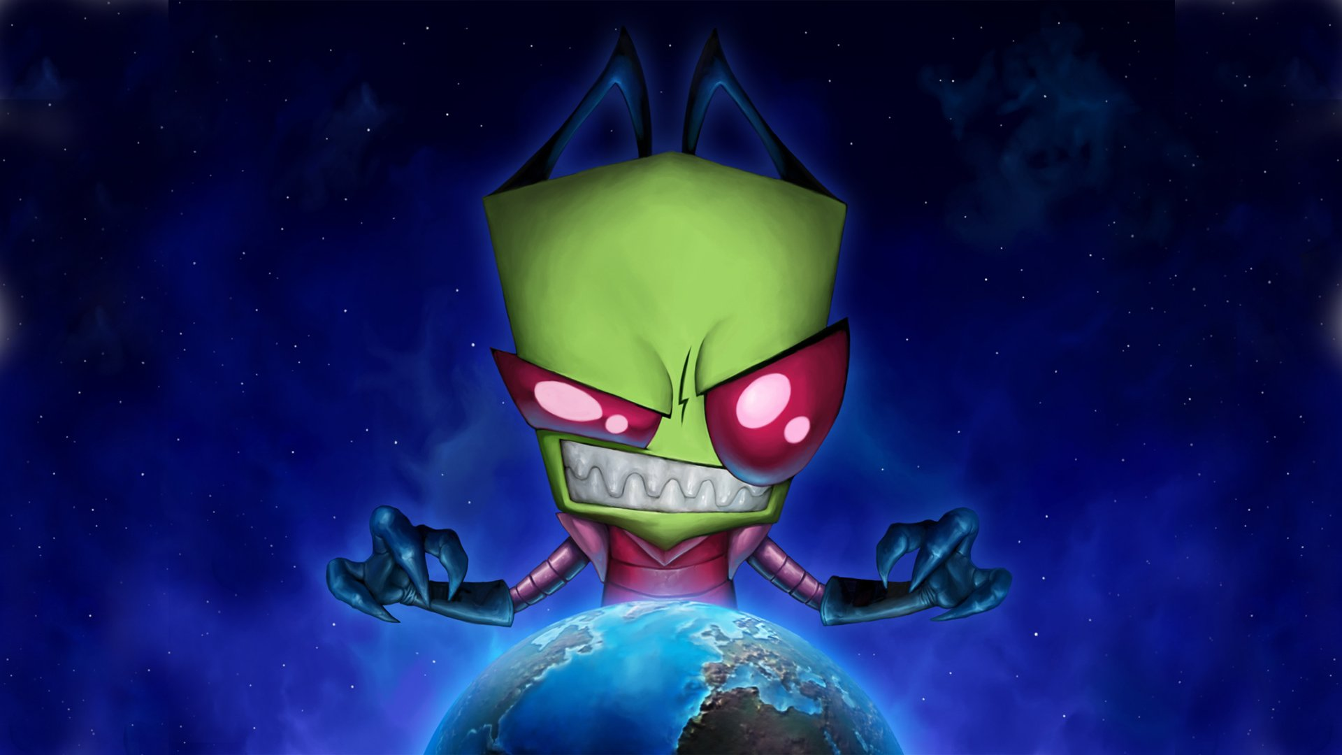 cartoons-alien-eyes-red-earth-invader-images-1920×1080-wallpaper-wp3603943