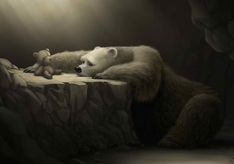 cave-rocks-toys-children-lonely-digital-art-bears-teddy-bears-sadness-polar-bears-1920x1080-wal-Wall-wallpaper-wp3603964