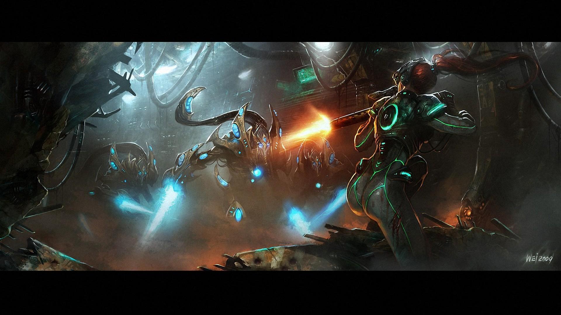 starcraft-protoss-high-templar-Starcraft-Kerrigan-1080p-wallpaper-wp36010876